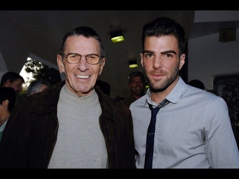 Leonard Nimoy Spock Dies - Message To Zachary Quinto