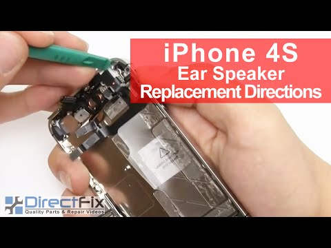 How To Replace iPhone 4S Earphone   DirectFix