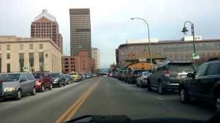 Drive threw Rochester ny the city