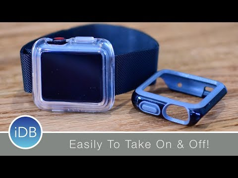 Speck Candyshell Apple Watch Cases Easily Come On & Off - Review