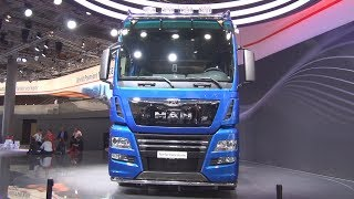 MAN TGX 18.640 D38 PerformanceLine Tractor Truck Exterior and Interior