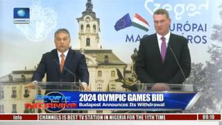 Sports This Morning: Budapest Announces Withdrawal From 2024 Olympic Games Bid