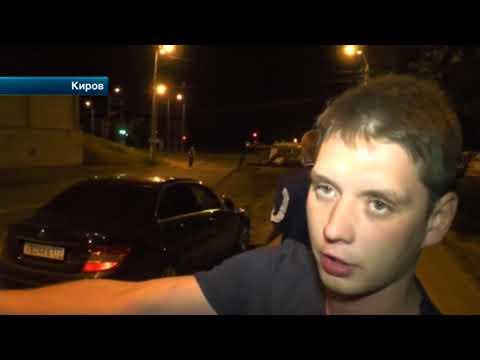 В Кирове пьяные подростки устроили гонки по центру города