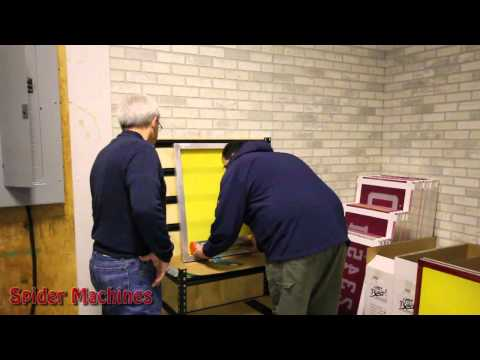 Screen Printing - How to Coat a Screen with Emulsion