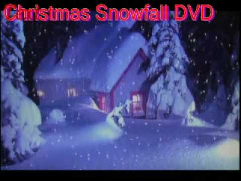 Christmas Snow DVD with Christmas Music