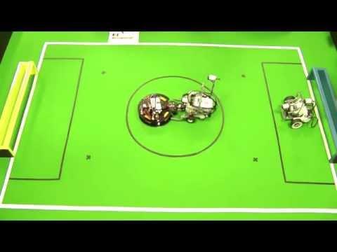 Robocup Junior Soccer Hungarian Championship highlights
