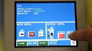 Operating Touch screen panel