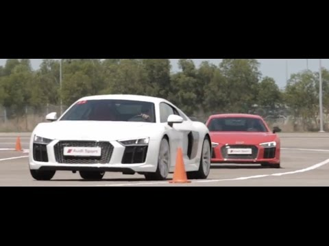 Audi Sport Driving Experience 2016 Singapore