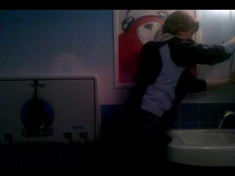 Katrina Dancing In Charmin Restroom video