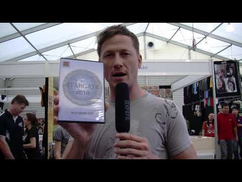 Corin Nemec Promotes Stargate 2010 Dvd