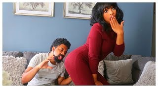 Very Funny Ethiopian and American Couple Drama Scene - COMPLAINING WIFE