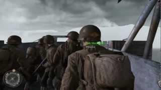 Call of Duty 2 - Día D - Batalla de Pointe du Hoc - Misión 8-1 - Español - PC - HD