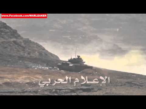 News - Houthi Rebels Destroy Saudi Arabian M60 Patton Tank On The Border To Yemen