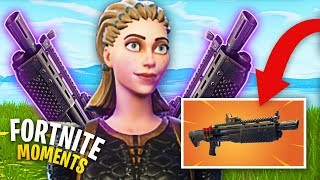 *NEW* HEAVY SHOTGUN IS AMAZING! (DOUBLE PUMP IS BACK) | Fortnite Daily Funny and WTF Moments Ep. 122
