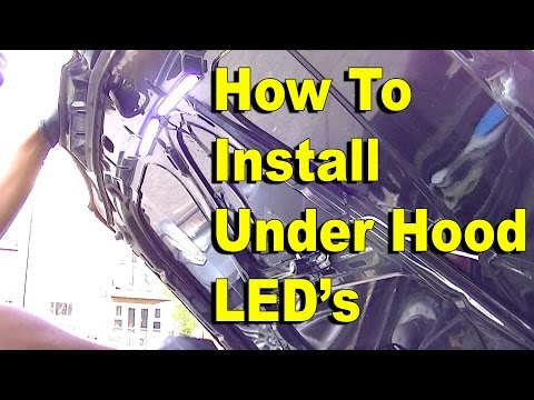 How To Install Under Hood LED Lights