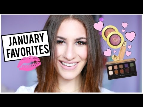 JANUARY BEAUTY FAVORITES 2015 ♡ Anastasia Beverly Hills, Smashbox, YSL + More! | JamiePaigeBeauty