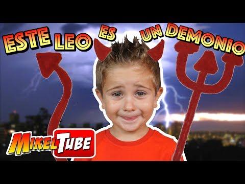 Este LEO Es Muy Travieso  😈 Videos Divertidos En Mikel Tube