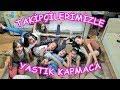 TAKİPÇİMİZLE BİR GÜN GEÇİRMEK! YASTIK KAPMACA OYNADIK - Eğlenceli Çocuk Videosu - Funny Kids Videos