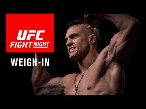UFC Fight Night Fortaleza: Official Weigh-in