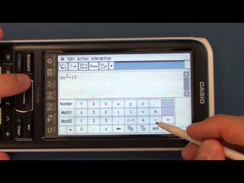 CAM #2 - Casio II FX-CP400 ClassPad Calculator. Arrival and Review