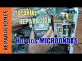Tutorial Reparacion Microondas