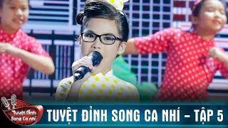 Cẩm Ly 'mê mệt' với  Thím Hai Lúa - Cô Ba Sài Gòn của song ca Gia Hân - Phương Nhi | TDSCN #5