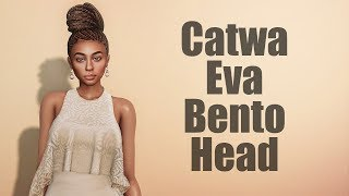 Catwa Eva Bento Mesh Head in Second Life