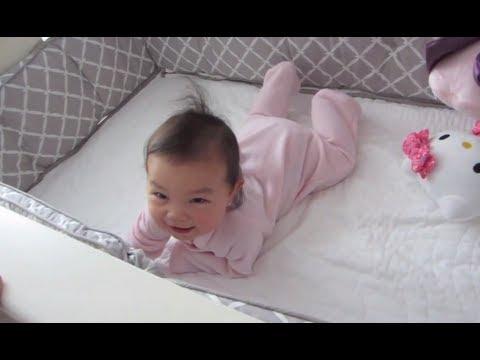 How To Make Baby Sleep In Crib Itsjudyslife Youtube