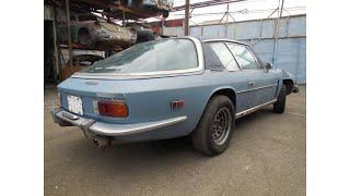 1971 Jensen Interceptor III Coupe Project Car for Restoration (photo slideshow)