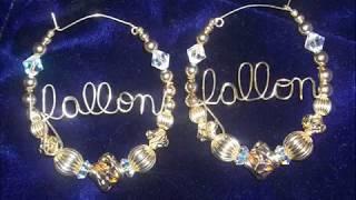 Gold Filled Beaded Jewelry-Earrings