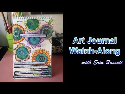 Doodling Art Journal Page Watch-Along Video