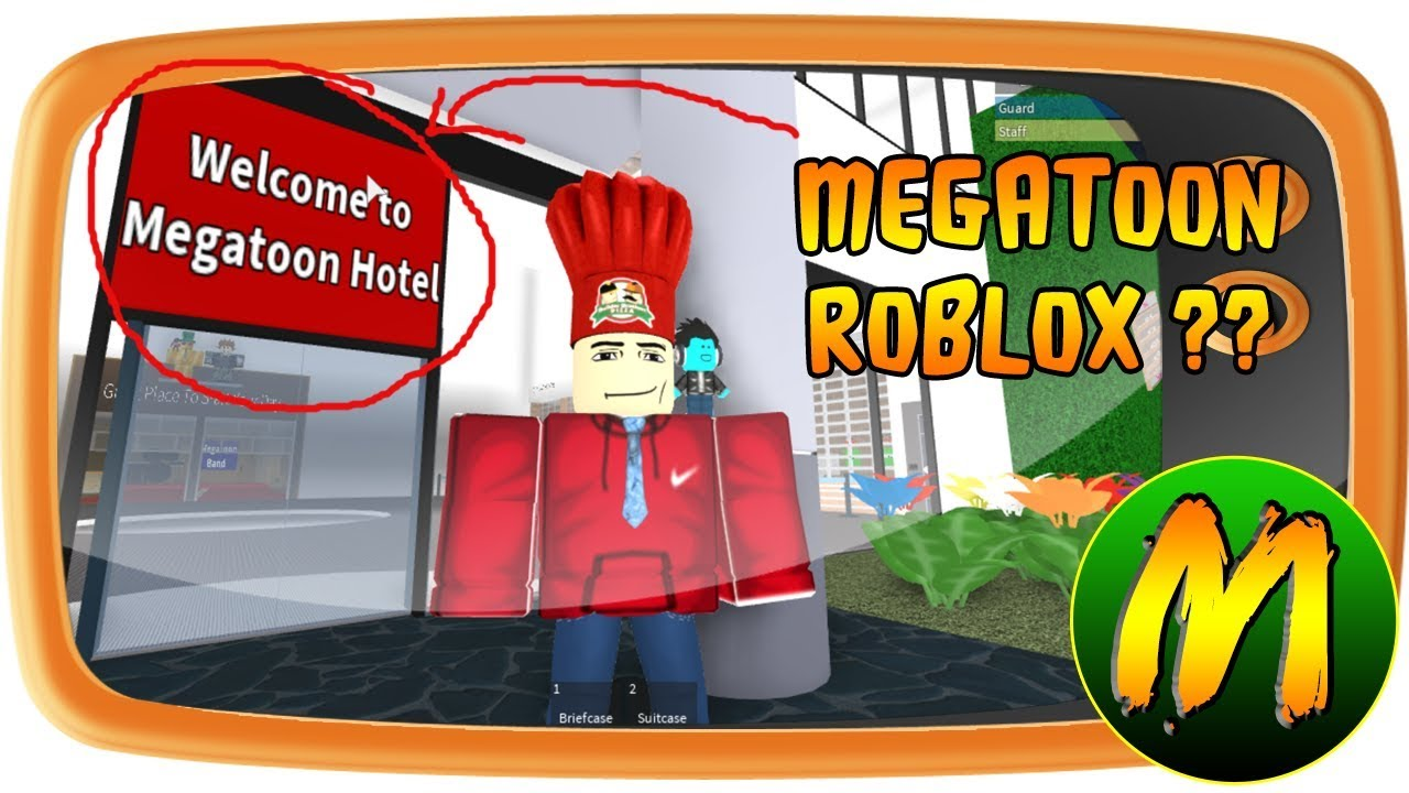 VLOG: MEGATOON ROBLOX GAME