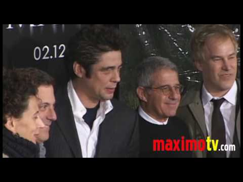 THE WOLFMAN Attacks Los Angeles PREMIERE Benicio Del Toro, Emily Blunt, Anthony Hopkins
