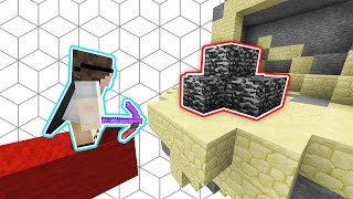 100% IMPOSSIBLE OBSIDIAN BASE TROLL!.. | (Minecraft BEDWARS)
