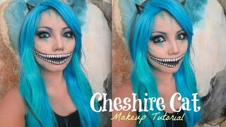 cheshire cat makeup tutorial uv glow. Black Bedroom Furniture Sets. Home Design Ideas