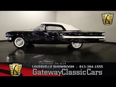 1960 Chevrolet Impala Convertible - Louisville Showroom - Stock #971