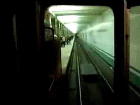Задорная песня машиниста метро