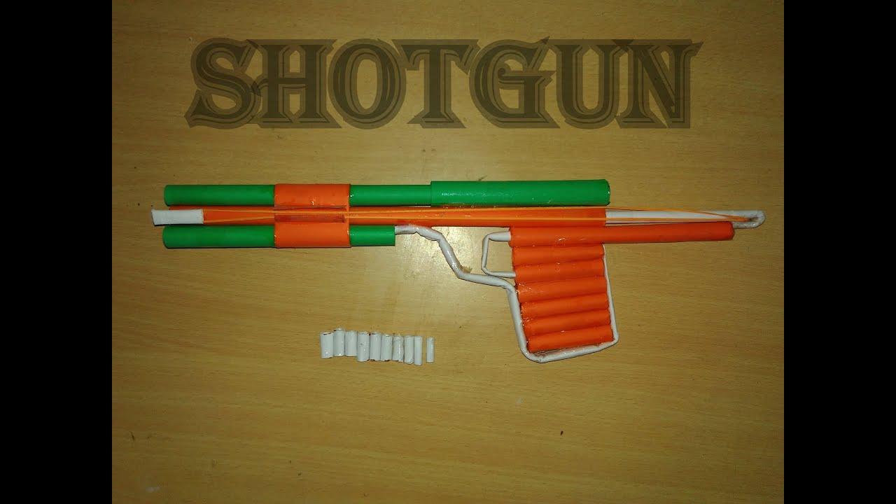 How to make как сделать стреляющую снайперскую винтовку из 49