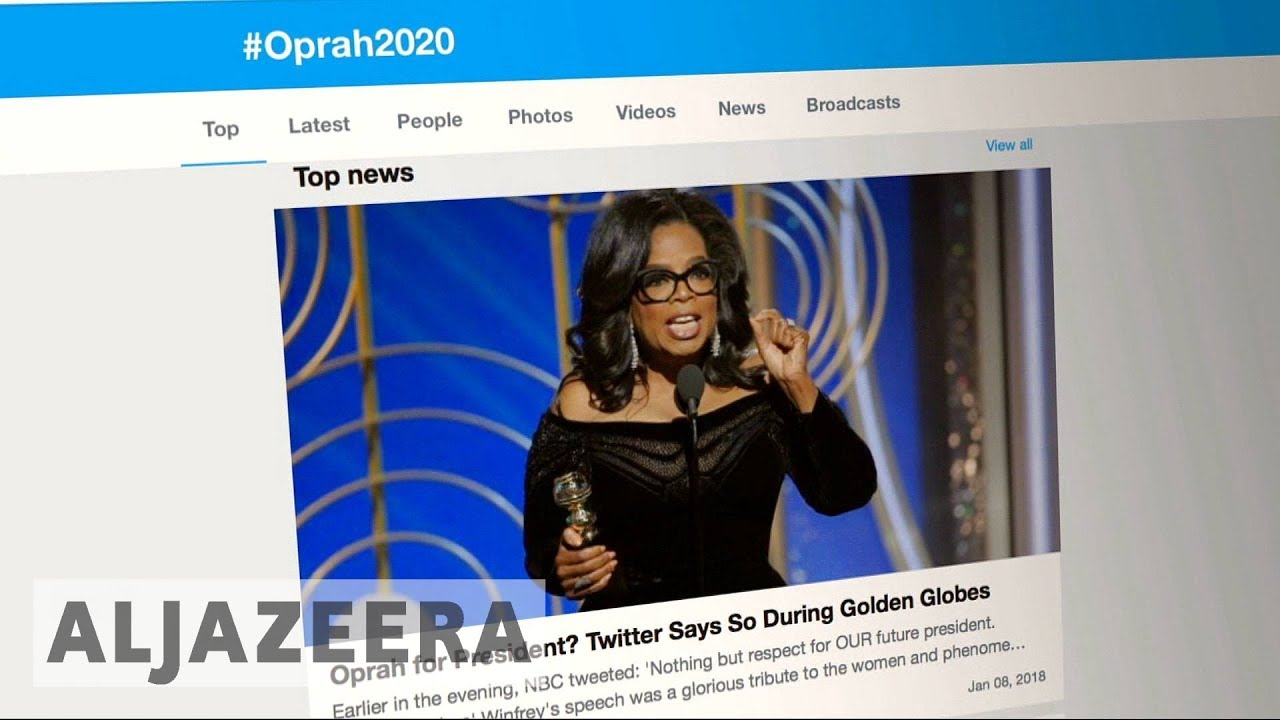 #Oprah2020: will Oprah run for US Presidency?