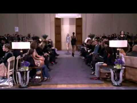 Julien Macdonald Fall 2009 Fashion Show (full)