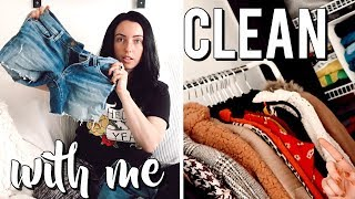 HUGE CLOSET CLEANOUT! Fall Organization & Makeover 🍁🌻