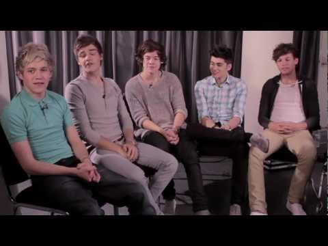 One Direction's Message For Their Hot Hits Fans - Funny!