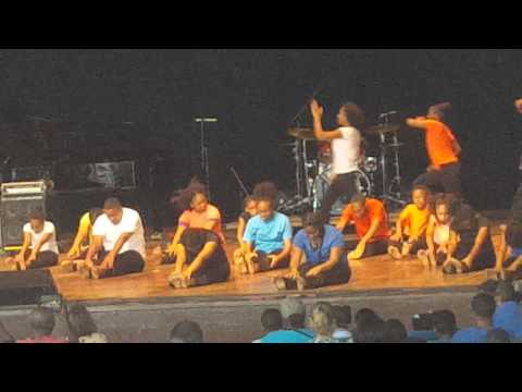 Lauryn's Performance with Freedom Theater