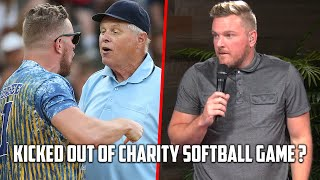 Pat McAfee Was Ejected From Celebrity Softball Game!