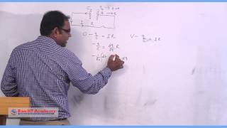 Charging and Discharging of a Capacitor RC Circuit Part I - IIT JEE Main & Advanced Physics  Lecture