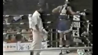 RAMON DEKKERS RARE BOXING FIGHT