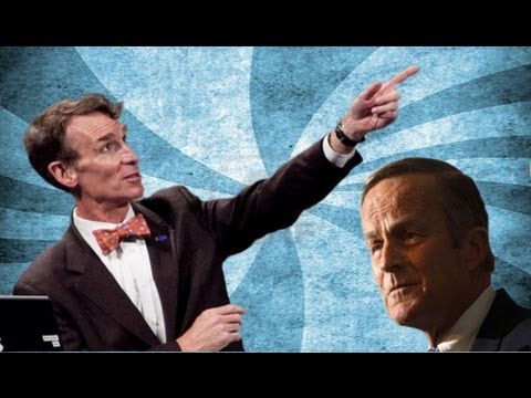 Bill Nye Says Akin 'fucking Idiot' video