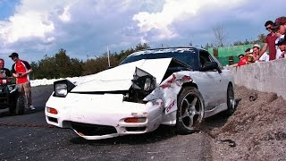 Epic Drift Crash and Fail Compilation 2015 ORIGINAL FOOTAGE