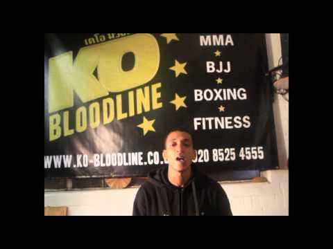 (Blood & Glory vid 2) ISKA Champ Paul Skybwoy Studholme pre fight interview