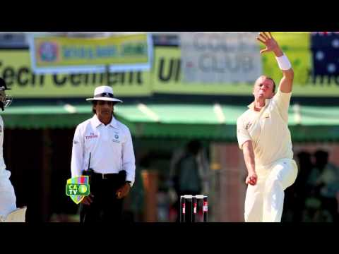 Peter Siddle re-lives his first Test wicket